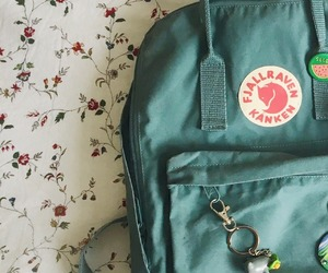 aesthetic, bag, and fjallraven kanken image