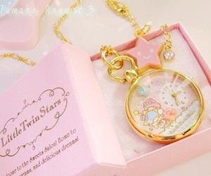 kawaii, cute, and clock image