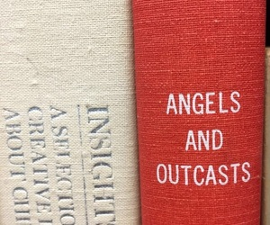 angel, book, and poem image