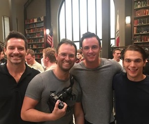 teen wolf, ryan kelley, and ian bohen image