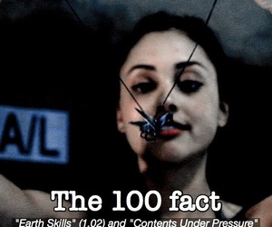 the 100, raven reyes, and the 100 facts image