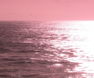 pink, ocean, and tumblr image