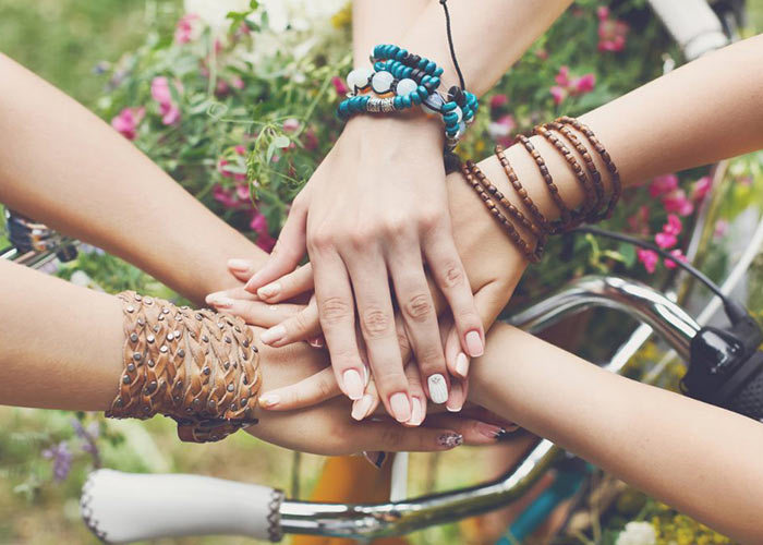 bracelet, friendship, and article image