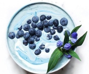 blue, fruit, and smoothie image