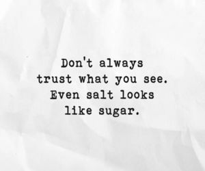 quote, salt, and sugar image