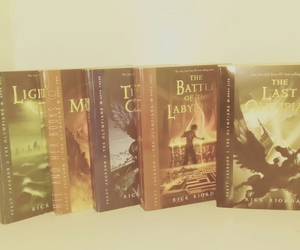 the lightning thief, the last olympian, and the sea of monsters image