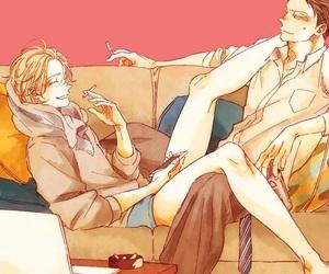 anime, art, and love image