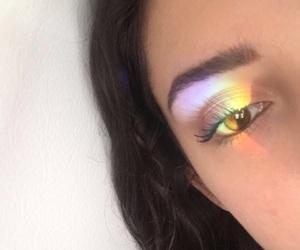 alternative, eyelashes, and eyeshadow image