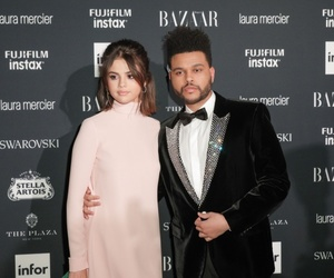 selena gomez, the weeknd, and style image