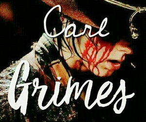 carl, carlgrimes, and twd image