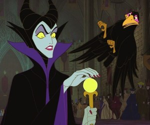 sleeping beauty and maleficent image