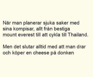 heart, svenska, and citat image
