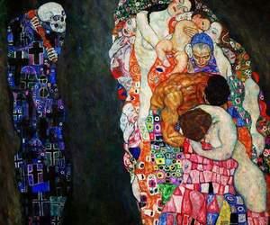art, Gustav Klimt, and klimt image