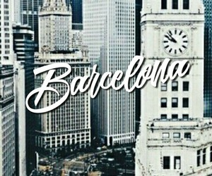 aesthetic, Barcelona, and sky blue image