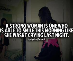 quote, strong, and smile image