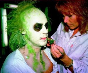 beetlejuice, michael keaton, and tim burton image