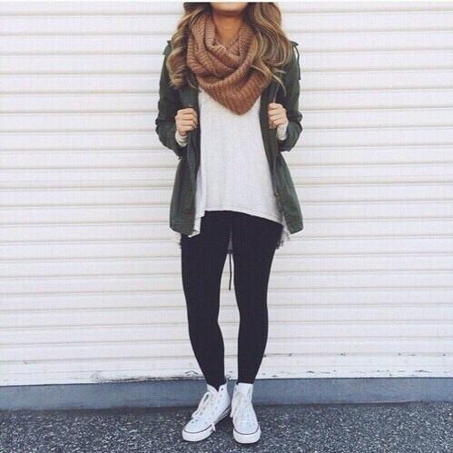 autumn, fall fashion, and inspiration image