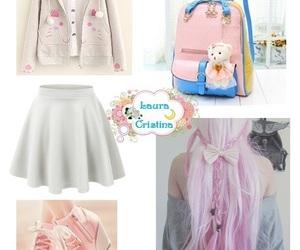blanco y rosa image