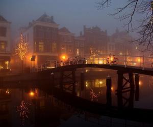 light, night, and amsterdam image