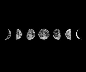 moon, القمر, and ليلٌ image