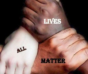 words and anti-racism image
