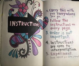 ideas, instruction, and wreck this journal image