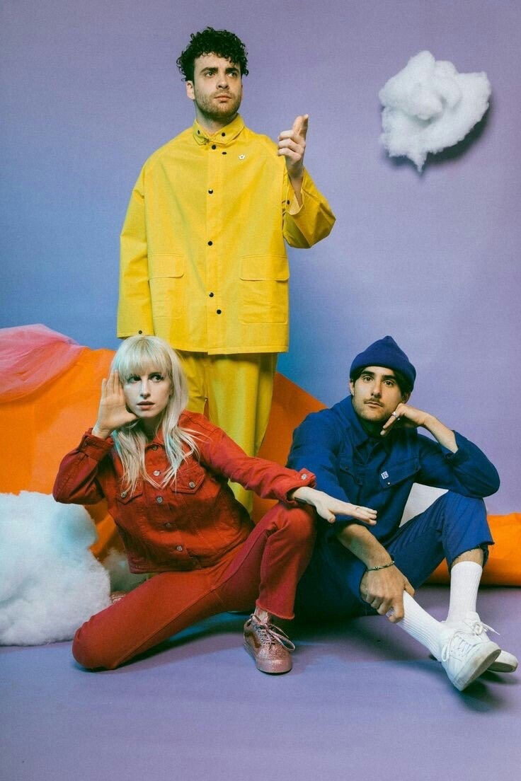 paramore, blue, and hayley williams image