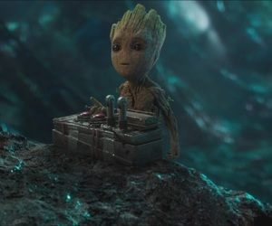 guardians of the galaxy, Marvel, and baby groot image