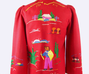 embroidered, made in mexico, and embroidery image