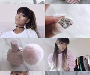 pink, wallpapers, and ariana grande image