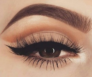 makeup, fashion, and eye image