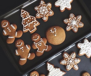 Cookies, gingerbread, and snowflakes image