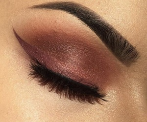 makeup, beautiful, and style image