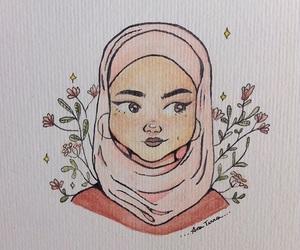 art, Iman, and skam image