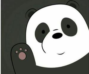 panda, wallpaper, and bear image