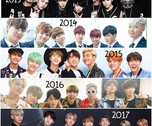 bts, bangtan, and bts army image
