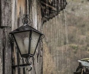 photography, rain, and rustic image
