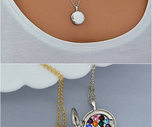 etsy, mom gift, and mother necklace image