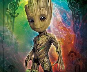 illustration, guardians of the galaxy 2, and movie image
