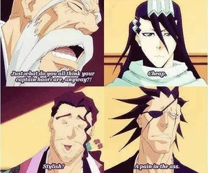 bleach, Yamamoto, and captain image