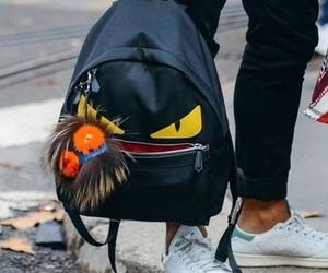 backpack, fashion, and fendi image