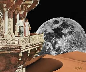 Collage, digital collage, and collage art image