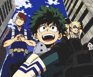 heroes, shouto todoroki, and boku no hero academia image