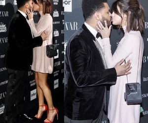 gorgeous couple, the weeknd, and selena gomez image