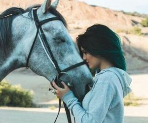horse, kylie jenner, and kylie image