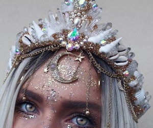 crown, makeup, and aesthetic image