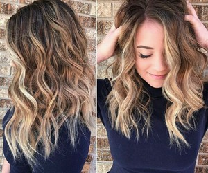 blond, girls, and haircut image