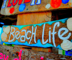 beach, style, and beach life image