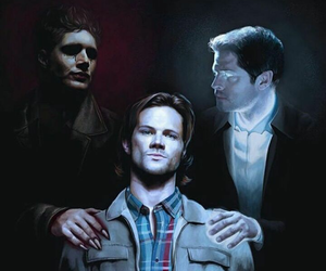 supernatural, castiel, and dean image