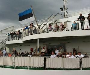 cruise, estonia, and ship image